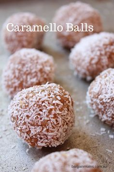 If you loved our Chocolate Caramello Slice, you are going to love these Caramello Balls. They are similar to..