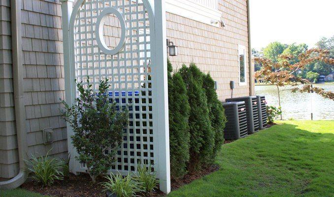 trellis to hide air conditioner | Trellis, hide air conditioning unit, McDonald Garden Center