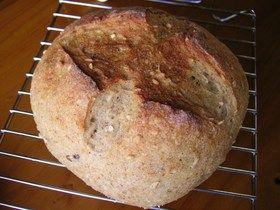 レーズン酵母液ストレート法★おからパン