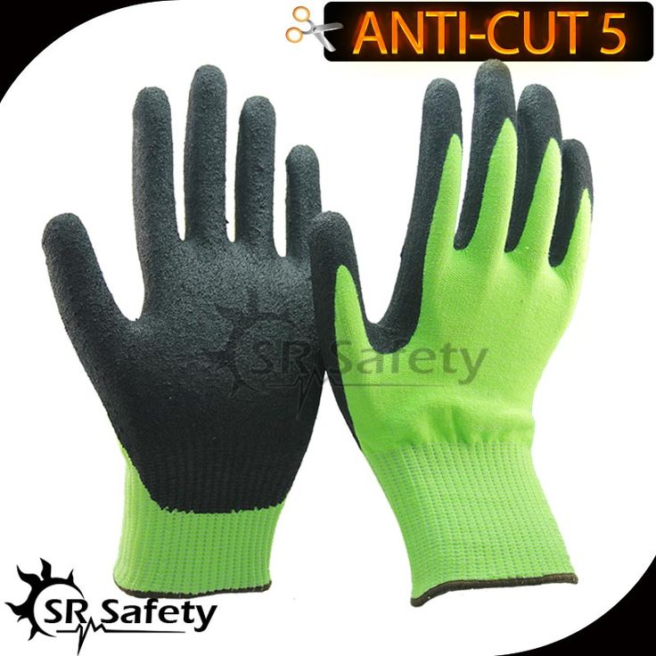 SRSafety 2 Pairs Of CE Standard CUT level 5 cut resistant gloves,sandy finish #Affiliate