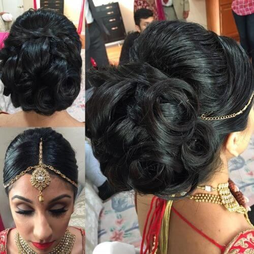 Wedding Juda Hairstyle Step By Step: 81 Best Hair Buns Images On Pinterest