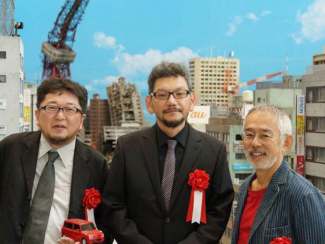 A Look Inside Hideaki Anno's Tokusatsu Exhibit - Crunchyroll http://www.crunchyroll.com/anime-news/2012/07/15/a-look-inside-hideaki-annos-tokusatsu-exhibit