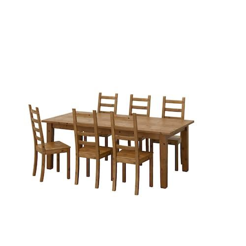 Ikea Stornas Kaustby Tisch Und 6 Stuhle Kuchensets Ausziehtisch Gunstige Mobel