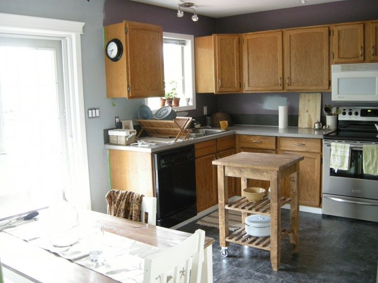 Best Intriguing Grey Walls In Kitchen With White Cabinet 640 x 480