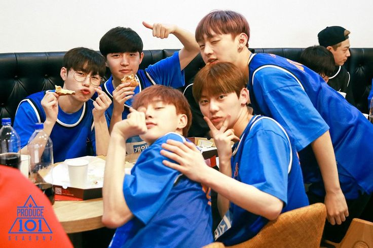 Kim Jaehwan, Ha Seungun, Yoon Jisung, Hwang Minhyun, Kwon Hyunbin
