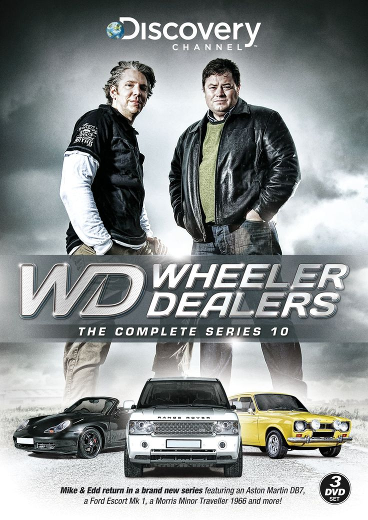 """Wheelers Dealers"" (Television seriew) fronted by Mike Brewer and Edd China broadcasted via Taiwan Discovery Channel 
