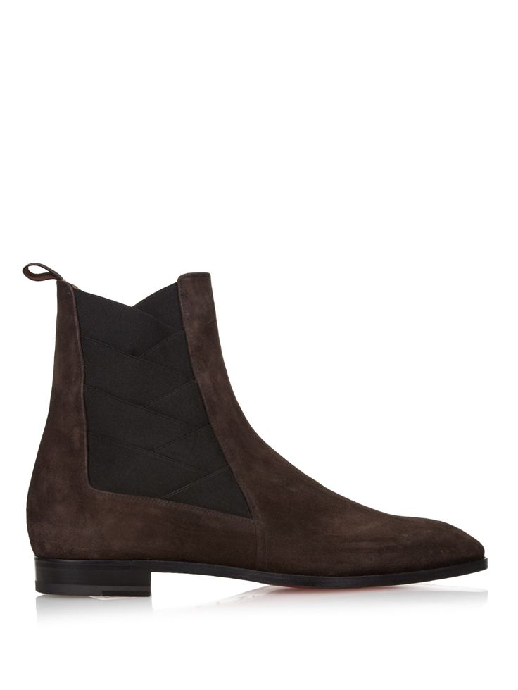 Brian suede ankle boots   Christian Louboutin   MATCHESFASHION.COM UK