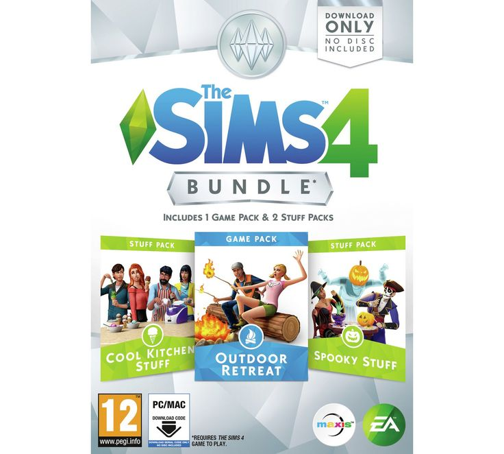 Buy The Sims 4 Outdoor Retreat Bundle Pack at Argos.co.uk, visit Argos.co.uk to shop online for PC games, PC games and accessories, Video games and consoles, Technology