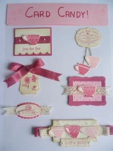 Tea Shoppe Card Candy