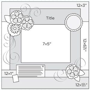 scrapbook sketches | ... 12x12 sketches get single photo sketches download multiphoto sketches