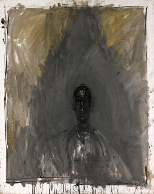 Alberto Giacometti, Self Portrait. One of my most favorites