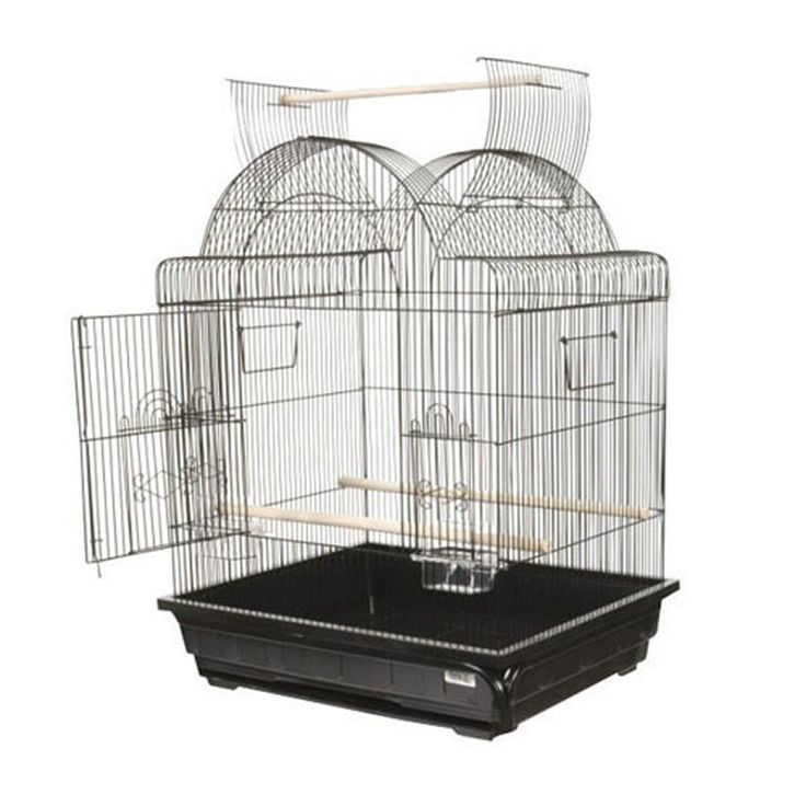 A and E Cage Co. Victorian Open Top Bird Cage - Bird Cages at Hayneedle