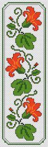 Floral Motif Bookmark cross stitch pattern                                                                                                                                                      More