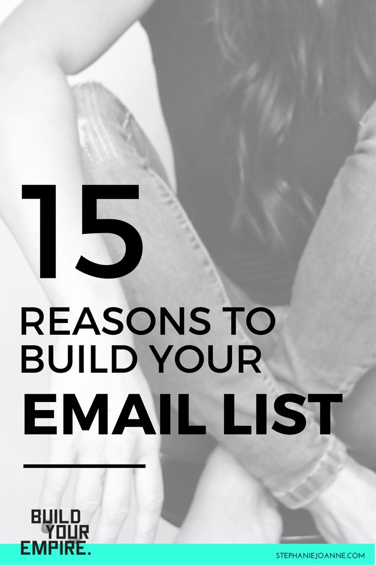 Straight up.... If you're not building an email list, you're making a HUGE mistake. And I will come right out of the gates with this post letting you know that I made this HUGE mistake for years in my own business and it kills me to think about how much