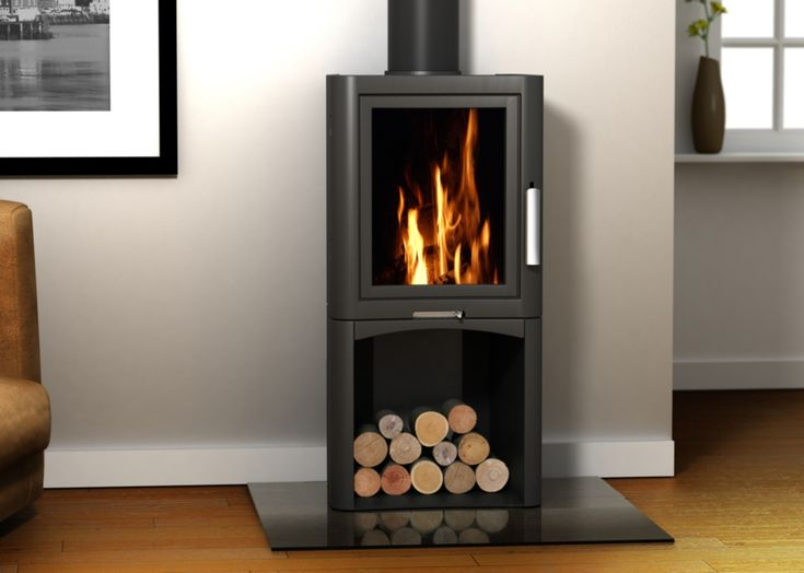 The Broseley Evolution 5 Log Store Wood Burning Stove is a tall free-standing version of the Evolution 5 stove. Description from thestoveplace.co.uk. I searched for this on bing.com/images