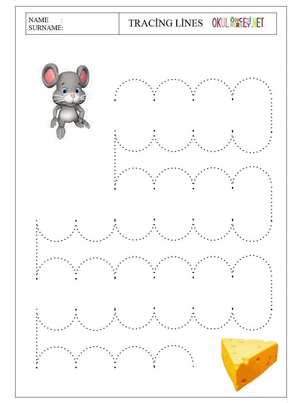 53 best Trace the lines images on Pinterest | Fine motor skills ...