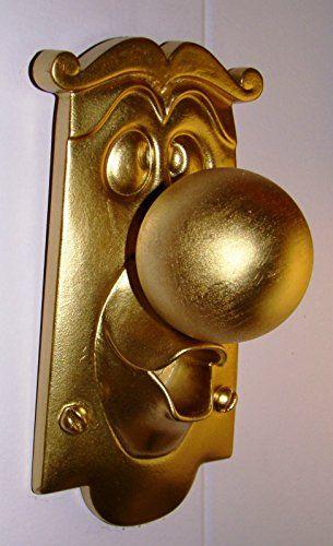 Alice in Wonderland Door Knob Movie Character Display Figure Doorknob Prop NON-FUNCTIONAL