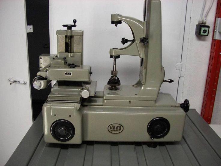 MAAG FP-30 Zahnradprüfmaschine (mit Video) Gear Checker Tester Evolventprüfgerät