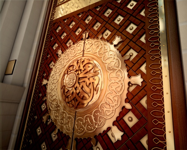 Madina Gate (Masjid Al Nabavi) Channel Ident by Zulfiqar Ali, via Behance