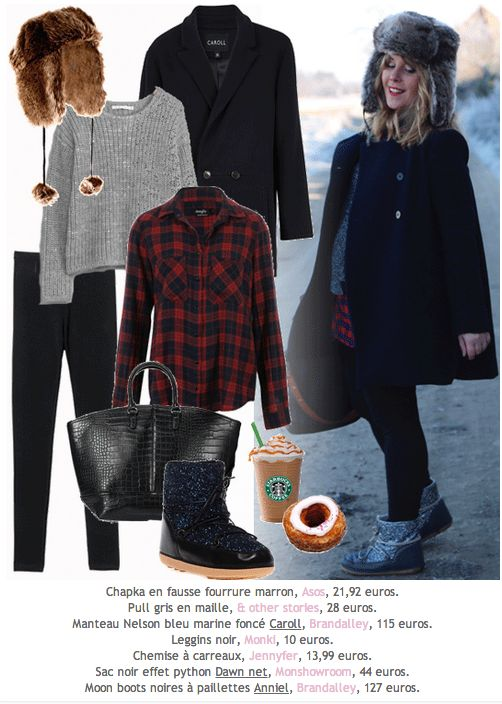 "NEW POST sur le blog ! Le #look ""grand froid"" de Céline #LesDemoizelles avec #ASOS, #andOtherStories, #Brandalley, #Monki, #Jennyfer et #MONSHOWROOM.  http://pipelette-babbler.blogspot.fr/2014/01/look-chapka.html"