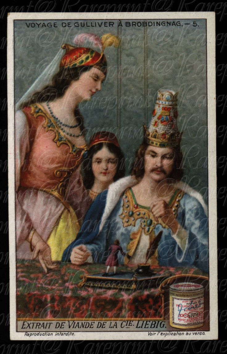Advertising Cards - Collector Cards- Liebig Antique Collectors Card - Voyage De Gulliver - King and Queen by Printvilla4you on Etsy https://www.etsy.com/listing/235798762/advertising-cards-collector-cards-liebig
