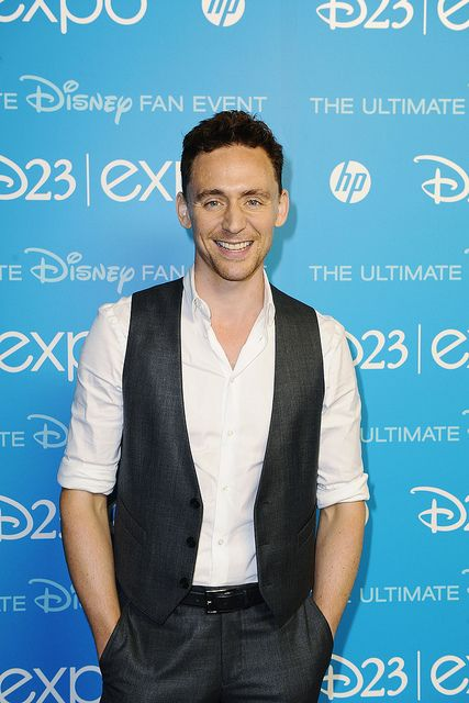Tom at the Disney Expo looking gorgeous as usual.