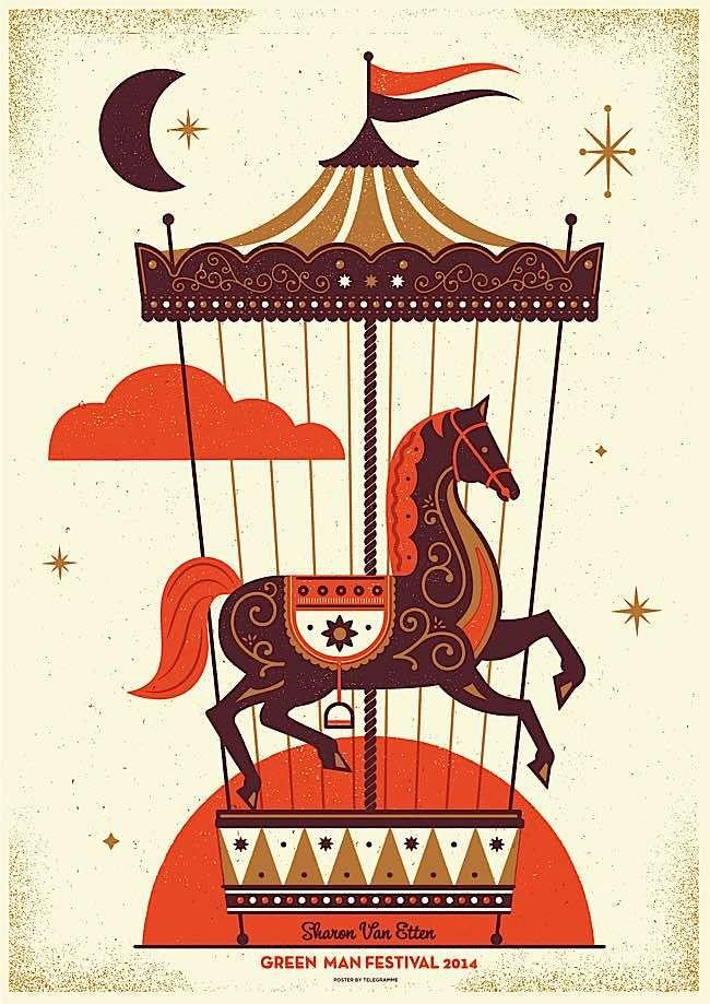Screen Printed Gig Posters | Abduzeedo Design Inspiration