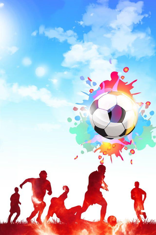 Sepakbola Olahraga gambar latar belakang ppt PowerPoint