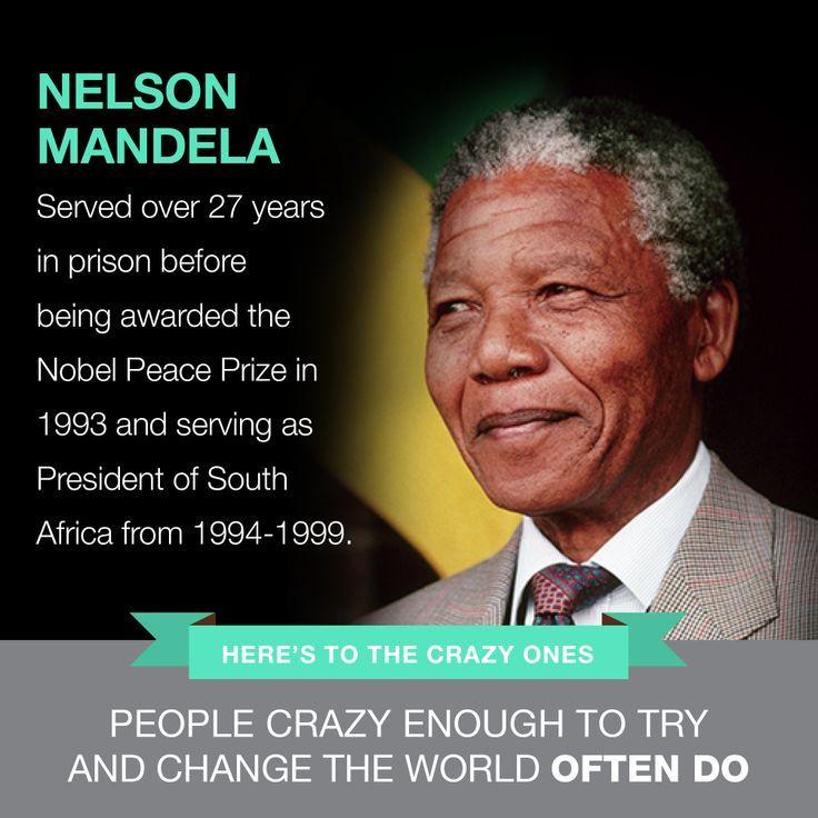 Inspirational Quotes About Failure: NELSON MANDELA Famous Failure