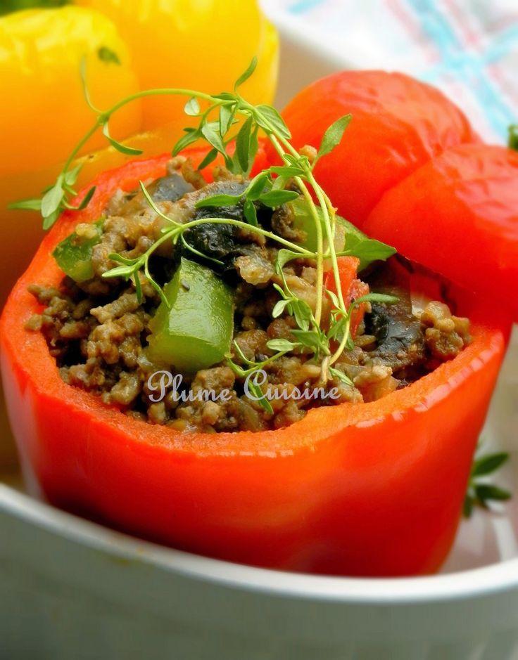 poivrons-farcis-boeuf-et-champignons