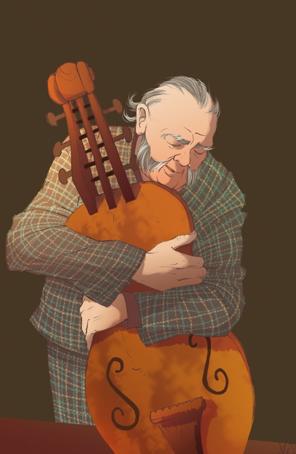 Fairy Oak-O'Cordless-The Old Musician: He is a lute maker, a widower wed to…