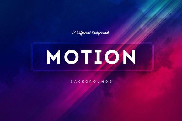 18 Motion Backgrounds v4 by BIBI.ARTS on @creativemarket