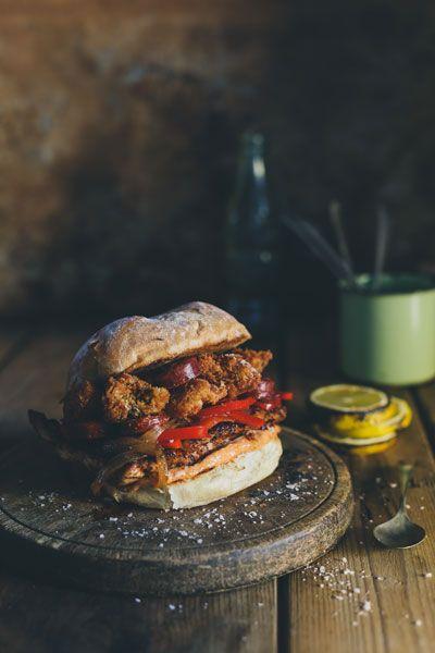 Spanish Chicken Style Burger | Crush Magazine