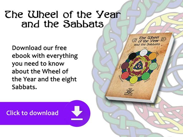 Free #Ebook The Wheel of the year and the Sabbats | The #WheeloftheYear is a #Pagan Calendar where it is possible to observe the 8 #Sabbats. It is very popular nowadays in #Wicca and Modern #Witchcraft. Learn here: What is the Wheel of the Year? What's the relation between it with the God and the Goddess? What is the meaning of each Sabbat? And more...