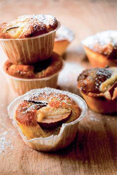 Marcipanmuffins - Dessert/kage - Opskrifter - Mad og Bolig
