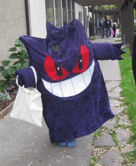 gengar pokemon costume