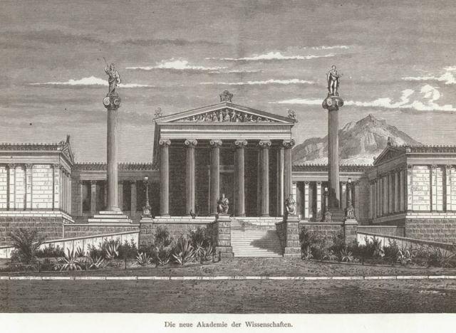 1887, Academy of Athens  - SCHWEIGER LERCHENFELD, Amand von