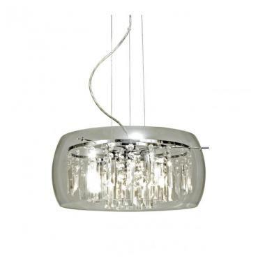 Intro taklampe Krom 40cm   Lampehuset