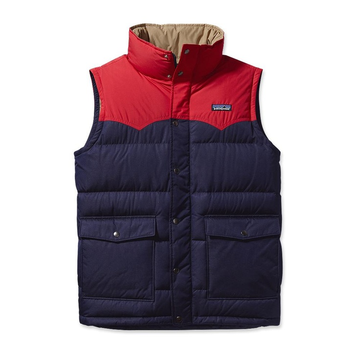 Patagonia Men's Slingshot Down Vest - I like the green one of course