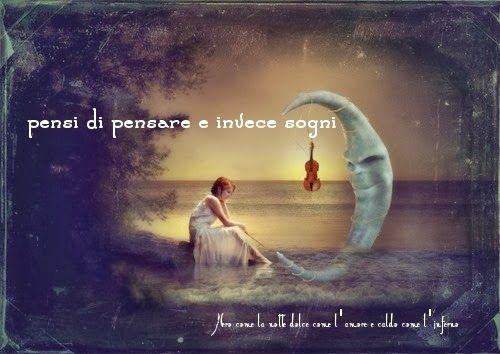 Nero come la notte dolce come l'amore caldo come l'inferno: pensi di pensare e invece sogni.. (cit.)