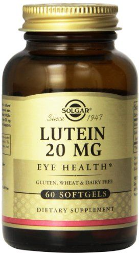 Solgar Lutein Softgels 20 mg 60 Count >>> Want to know more, click on the image.  This link participates in Amazon Service LLC Associates Program, a program designed to let participant earn advertising fees by advertising and linking to Amazon.com.