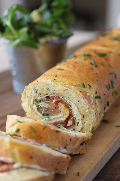 Smoked salmon, zesty cream cheese and cucumber roulade - Bits of Carey .co.za