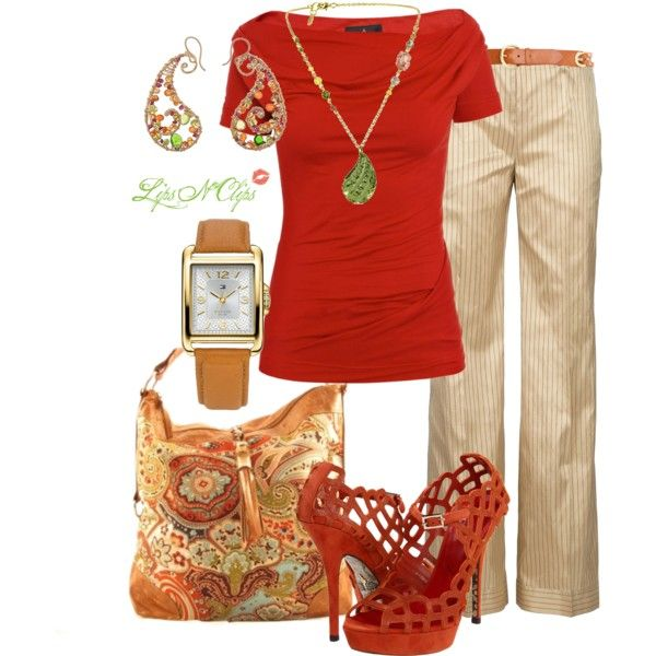 """""""Tangerine Dream"""" by lipsnclips on Polyvore"""