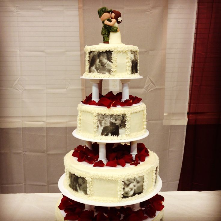 top of wedding cake ideas 25 best ideas about army wedding cakes on 21052