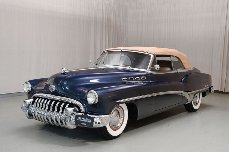 #buick #cabrio #hyman #klassischeautos #roadmaster 1950 Buick Roadmaster Cabrio …