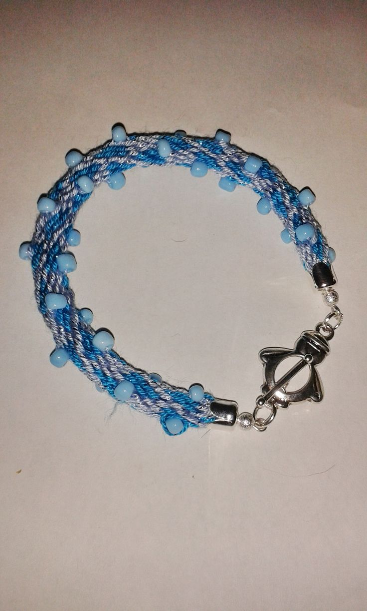 winter beads bracelet