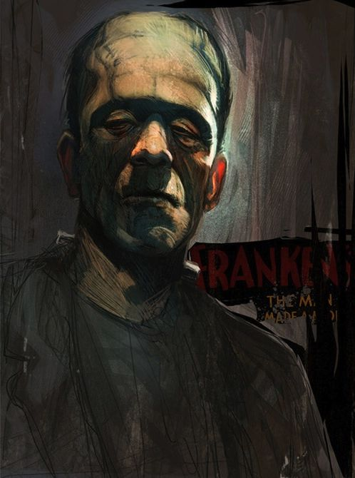 4.Legendary Monster @TheScareFest  Frankenstein and other Classic Monster Art - News - GeekTyrant