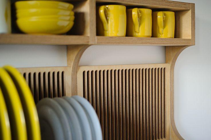 SETYARD - Furniture | Plywood plate rack