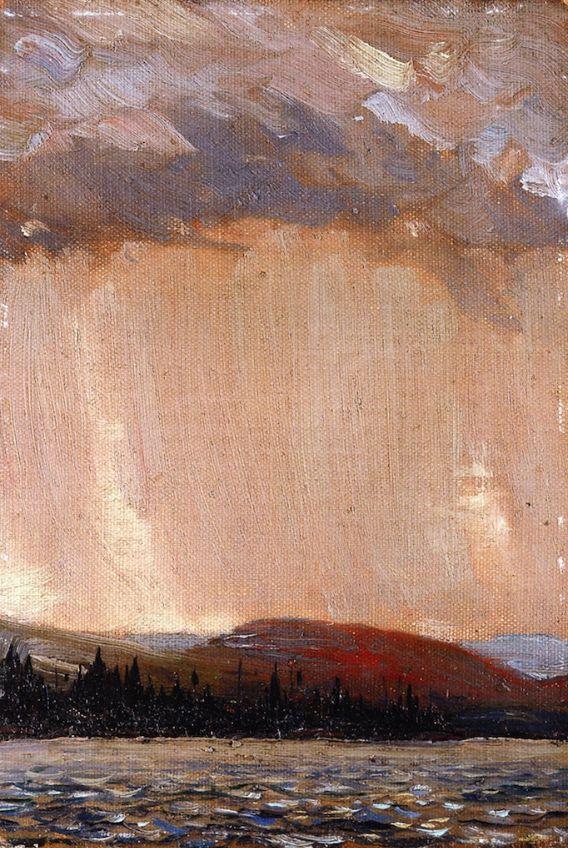 """Canoe Lake Tom Thomson - 1913 """