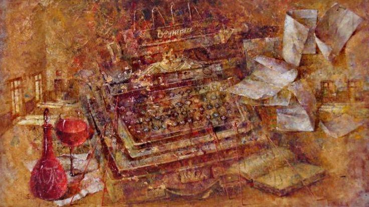 "Saatchi Art Artist Aurum Art Centre Odessa; Painting, ""Olympia"" #art"